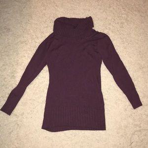 Plum sweater dress!